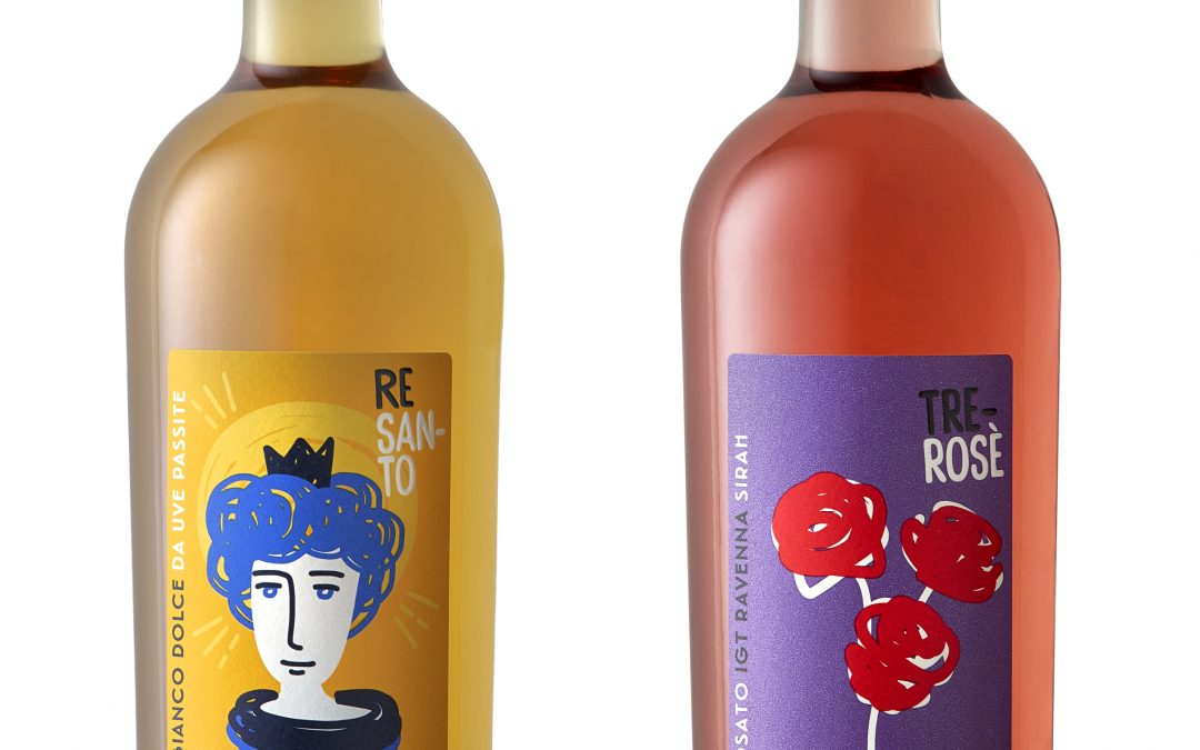I nuovi vini Tre Rose'  e Re Santo