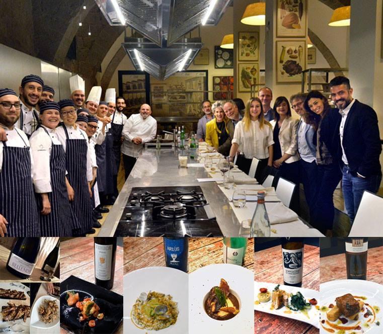 Teatro dell 'eccellenza incontra l'eccellenza dei Vini italiani : noi c'eravamo !