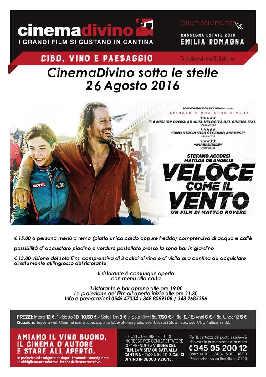 CinemaDivino 2016 - 26 Agosto Agriturismo Trerè