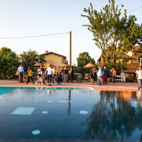 Evento bordo piscina