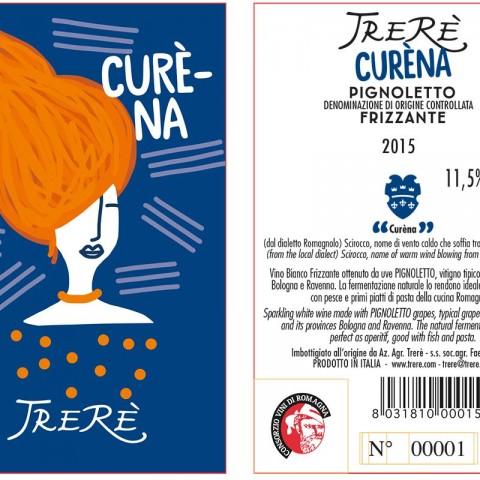Etichetta Curèna