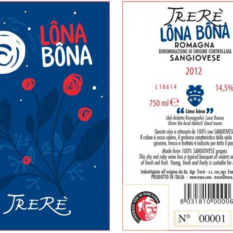 Etichetta Lôna Bôna