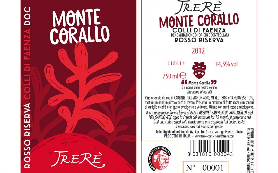 Montecorallo Label