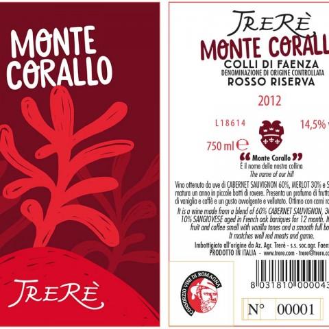 Montecorallo Label