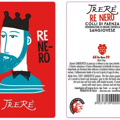 Etichetta Re Nero