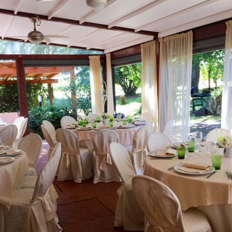 Matrimonio in veranda